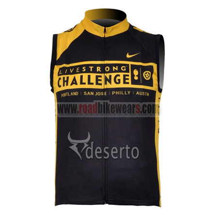 7ec392dc4 2009 Team LIVESTRONG CHALLENGE Cycle Apparel Sleeveless Training ...