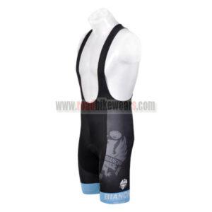 2012 Team BIANCHI Cycle Bib Shorts Black Blue