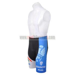 2012 Team BIANCHI Cycle Bib Shorts Blue White