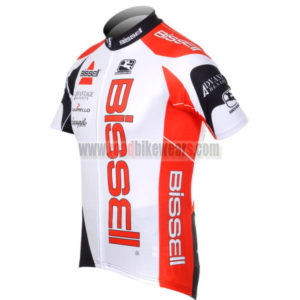 2012 Team BISSELL Cycle Jersey Shirt ropa de ciclismo