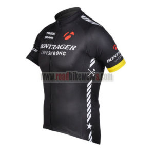 2012 Team BONTRAGER Cycle Jersey Shirt maillot cycliste Black