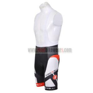 2012 Team CASTELLI Cycle Bib Shorts White Black