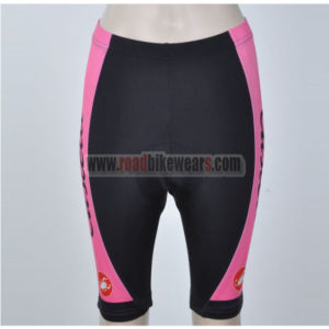 2012 Team CASTELLI Women Cycling Shorts Pink Black