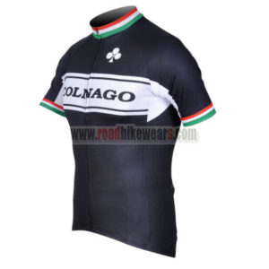 2012 Team COLNAGO Cycle Jersey Shirt maillot cycliste Black White
