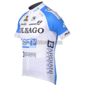 2012 Team COLNAGO Cycle Jersey Shirt ropa de ciclismo White Blue