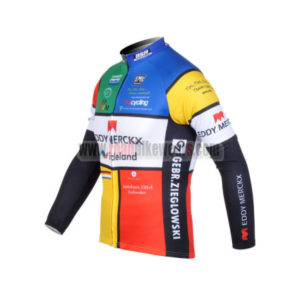 2012 Team EDDY MERCKX Cycle Long Sleeve Jersey