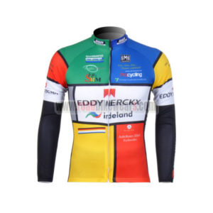 2012 Team EDDY MERCKX Cycling Long Sleeve Jersey