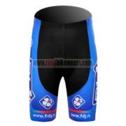 2012 Team FDJ Cycling Shorts Blue