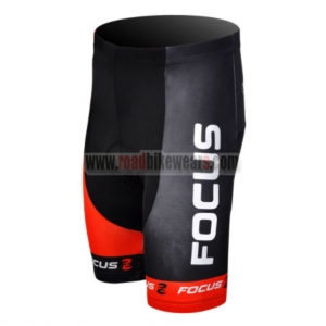 2012 Team FOCUS Cycle Shorts Black Red