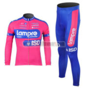2012 Team Lampre Pro Cycling Kit Long Sleeve