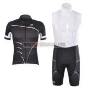 2012 Team PINARELLO Cycling Bib Kit Black