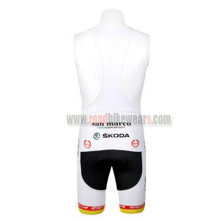2012 Team RALEIGH SKODA Cycle Apparel Biking Padded Bib Shorts ... 06acd8890