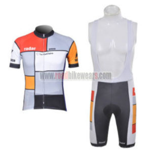 2012 Team Radar La VieClaire Cycling Bib Kit
