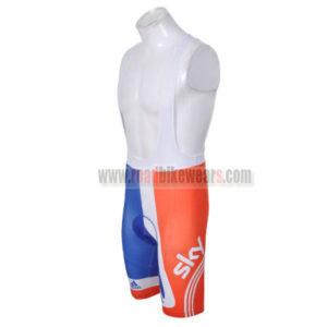 2012 Team SKY Cycle Bib Shorts Red Blue
