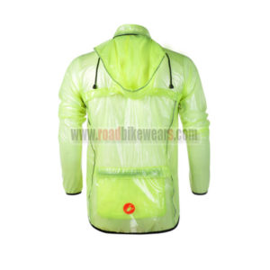 2013 Team Castelli Cycling Windbreaker Green Anti-UV