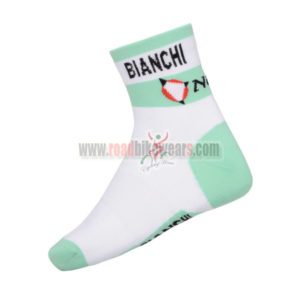 2014 Team BIANCHI Bicycle Accessories Riding Socks 108af28fd