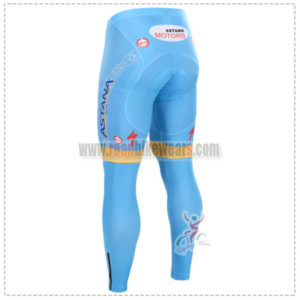2015 Team ASTANA Biking Long Pants Blue