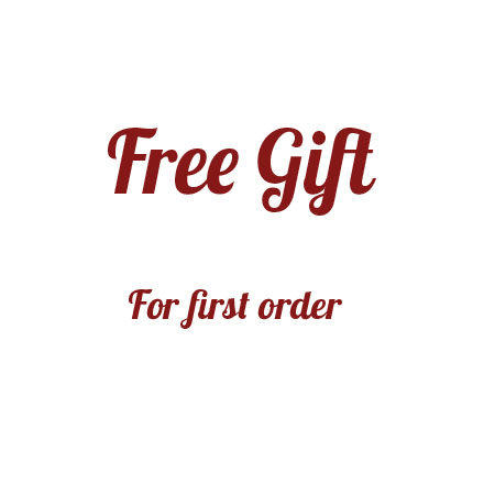 Free Gift for first order