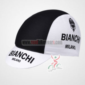2012 Team BIANCHI Cycling Cap Black White