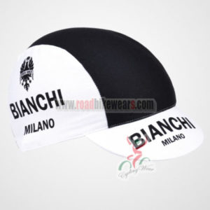 2012 Team BIANCHI Riding Cap Black White