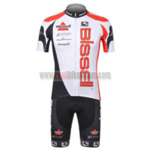 2012 Team Bissell Cycling Kit White Red