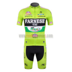 2012 Team FARNESE vini ITALIA Cycling Kit Green