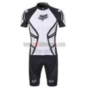 2012 Team FOX Cycling Kit Black White