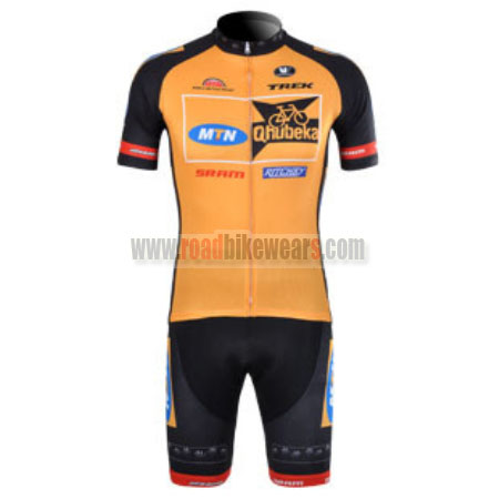 2012 Team MTN Qhubeka Riding Outfit Cycle Jersey and Padded Shorts ... 8319cb9b6