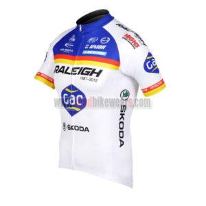 2012 Team RALEIGH SKODA Cycle Jersey Shirt ropa de ciclismo