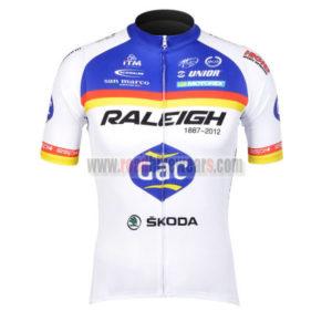 2012 Team RALEIGH SKODA Cycle Apparel Biking Jersey Top Shirt Maillot  Cycliste  0654b0690