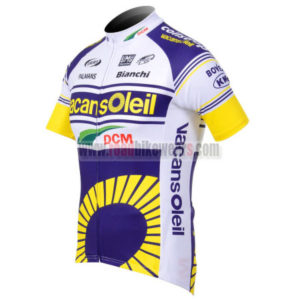 2012 Team Vacansoleil Cycle Jersey Shirt ropa de ciclismo