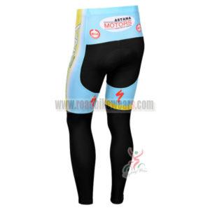 2013 Team ASTAN Biking Long Pants Blue Black