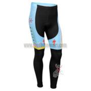 2013 Team ASTAN Cycling Long Pants Blue Black