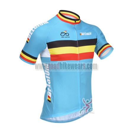 be7545240 2013 Team BELGIUM Cycle Wear Biking Jersey Top Shirt Maillot ...