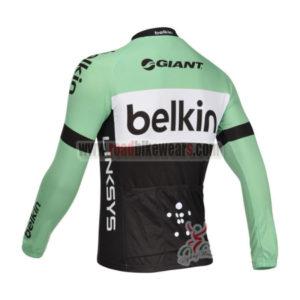 2013 Team Belkin Pro Bike Long Sleeve Jersey