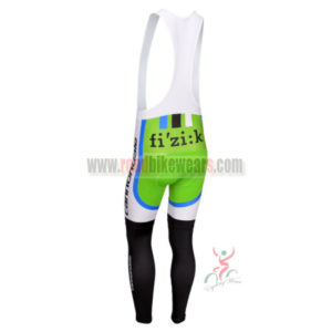 2013 Team CANNONDALE Pro Cycle Long Bib Pants Green