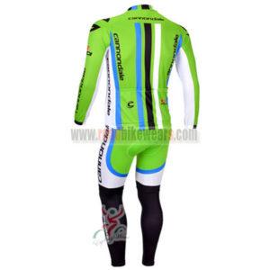 2013 Team CANNONDALE Pro Long Bike Kit Green