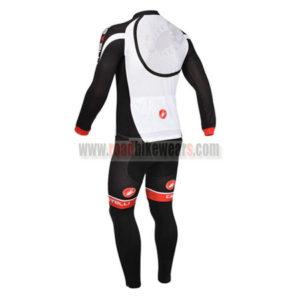 2013 Team CASTELLI Pro Cycle Long Sleeve Kit