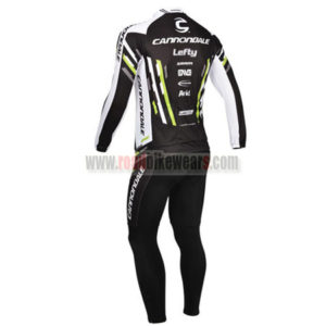 2013 Team Cannondale Riding Long Kit Black