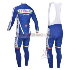 2013 Team Castelli ITALIA Pro Cycle Bib Kit