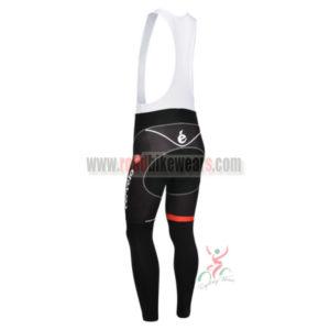 2013 Team Cervelo Riding Long Bib Pants Black