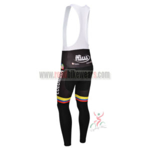 2013 Team Colombia Pro Bike Long Bib Pants