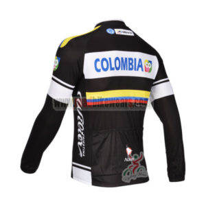 2013 Team Colombia Pro Bike Long Sleeve Jersey