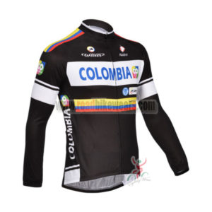 2013 Team Colombia Pro Cycling Long Sleeve Jersey