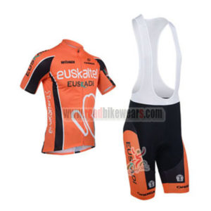 2013 Team EUSKALTEL Cycling Bib Kit