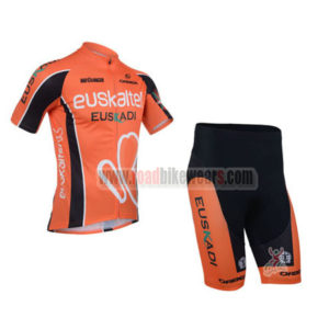 2013 Team EUSKALTEL Pro Cycling Short Kit