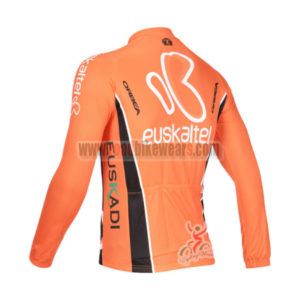 2013 Team Euskaltel EUSKADI Bike Long Jersey