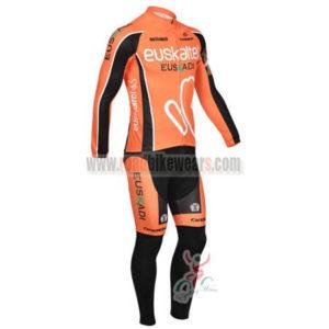2013 Team Euskaltel EUSKADI Cycling Long Sleeve Kit