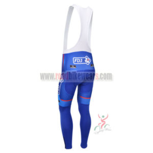 2013 Team FDJ Pro Cycle Long Bib Pants