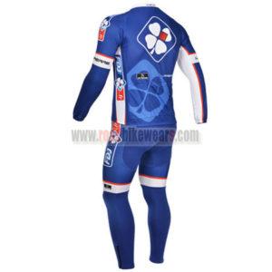 2013 Team FDJ Pro Cycle Long Kit Blue